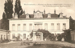 Westmeerbeek  : Kasteel Van Baron 't Serclaes ( Voorkant) - Hulshout