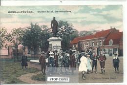 10 - 2020 - VANT - NORD - 59 - MONS EN PEVELE - Statue De Desmoutiers - Colorisée - Belle Animation - Altri Comuni
