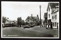 RPPC - Bidford-on-Avon - Bull's Head Inn - 2 Scans - Inglaterra