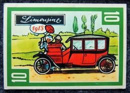 Image Nougat Confiserie Chocolat éditeur IAL Saint-Etienne - Vieilles Autos - N° 10 LIMOUSINE à Identifier 1913 - Otros