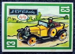 Image Nougat Confiserie Chocolat éditeur IAL Saint-Etienne - Vieilles Autos - N° 13 CITROËN 4 CV - 1919 - Otros