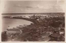TALLIN SADAM - The Harbour, Fotokarte Gel.1931, 2 Fach Frankiert - Estonia
