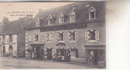 TAUVES  PLACE DE L HOTEL DE VILLE - Frankreich
