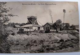 Carte Postale Ancienne Epinac Les Mines -puits Champs Pialey - Zonder Classificatie