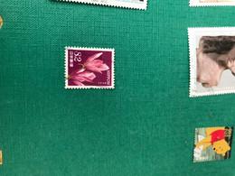 GIAPPONE FIORI 1 VALORE - Stamps
