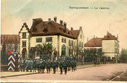 SARREGUEMINES , La Caserne - Sarreguemines