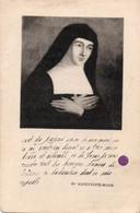 Image Pieuse - Relique  STE MARGUERITE-MARIE  -  Soie Ayant Touché Aux Ossement De La Sainte - Religion & Esotérisme