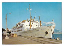 BATEAU PAQUEBOT ESPAGNE - ALGECIRAS : Transbordeur « Virgin De Africa » N° 3 - Passagiersschepen