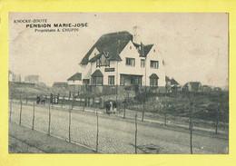 * Knokke Zoute - Knocke (Kust - Littoral) * (V. Weber, SAIA) Pension Marie José, Propriétaire A. Chupin, Unique - Knokke