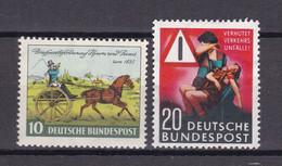BRD - 1952/53 - Michel Nr. 160 + 162 - Postfrisch - 24 Euro - Ungebraucht