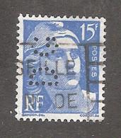 Perforé/perfin/lochung France No 886 DG Dufay Et Gigandet - Perforadas