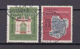 BRD - 1953 - Michel Nr. 171/172 - Gestempelt - 55 Euro - Gebraucht