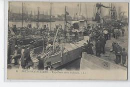 62 BOULOGNE SUR MER TORPILLEURS DANS LE BASSIN - Boulogne Sur Mer