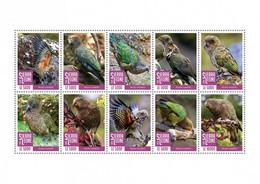 SIERRA LEONE 2020 - Kea Parrots. Official Issue [SRL200423a] - Parrots