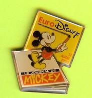 Pin's BD EuroDisney Le Journal De Mickey - 8E05 - Disney