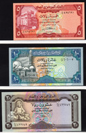 YEMEN 1981-90   5 BANCONOTE DIVERSE   FDS - Yemen