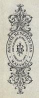1897 Lettre De Change AUGUSTE BENEZECH FILS Laines...Peaux... 81 MAZAMET Tarn ** FISCAUX - Wissels