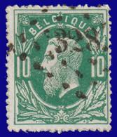"""COB 30 - Belle Oblitération à Pts 322 """"  St NICOLAS"""" - 1869-1883 Léopold II"""