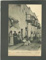 Algérie Biskra Rue Des Ouled Naïls édit. ND N° 4 Animée - Biskra