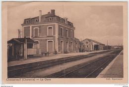 CHASSENEUIL SUR BONNIEURE LA GARE 1939 - Sonstige Gemeinden