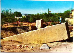 #914  Monolith From Roman Temple Of Baalbek Complex, Ancient Architecture - LEBANON - Image Card - Lebanon