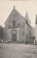 CARTE POSTALE  GIVARDON 18  Façade De L'église - Sonstige Gemeinden