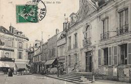 89 . Yonne .  Auxerre :  Hotel De Ville . - Auxerre