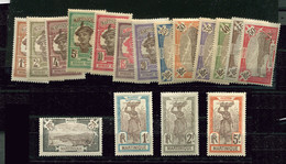 Martinique **,* Série N° 61 à 77 - - Unused Stamps