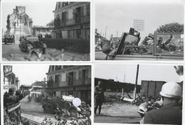 France 1940, 4 Photos Lieu Inconnu : Mercedes G4 D'hitler Le Jour De L'armistice (21 Juin) - Guerre, Militaire