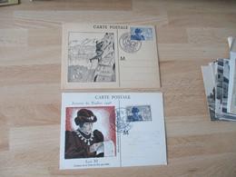 Lot De 2 C M Carte Maximum Louis 11 1946 - 1940-49