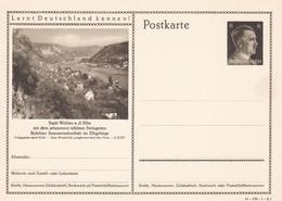 Entier Illustre  Neuf 1941 Wehlen A. D. Elbe  41-189-1-B 1 - Enteros Postales