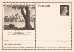 Entier Illustre  Neuf 1941 Wasserburg 41-191-1-B6 - Enteros Postales