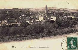 CPA CLAMECY - NIEVRE - VUE GENERALE - Clamecy