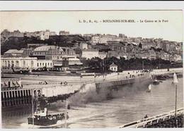 CPA BOULOGNE SUR MER - PAS DE CALAIS - LE PORT - BATEAU - Boulogne Sur Mer