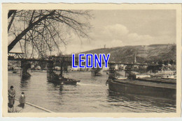 CPSM 9X14 D' ALLEMAGNE - COBLENCE - PONT Sur Le RHIN -1952- CARTE GLACEE - Koblenz