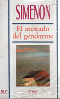 LIBRO EL ATESTADO DEL GERDARME DE SIMEON PRECINTADO - Action, Aventures