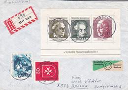 50 JAHRE FRAUENWAHLRECHT Irsch 15-09-1969 - Storia Postale
