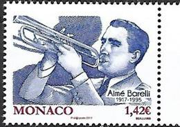 Monaco  2017.  Aime Barelli. MNH - Unused Stamps