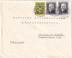LETTONIE 1937 LETTRE DE RIGA POUR BERLIN - Lettonie