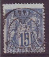 Aiguillon Lot Et Garonne (47) Oblitération Type 17 Sur Sage - 1877-1920: Semi-Moderne