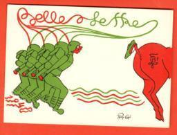 KAA-27b Société De Belles-Lettres Etudiants Lausanne En 1948 Illustr.Sigle FBL,Students, Non Circulé Grand Format - VD Vaud