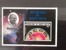 Haute Volta Bloc Mahatma Ghandi . Oblitéré. - Upper Volta (1958-1984)