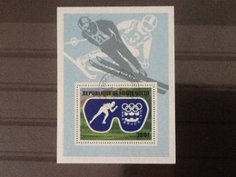 Haute Volta Bloc Jeux Olympiques D'Hiver Innsbruck 1976. Oblitéré. - Upper Volta (1958-1984)