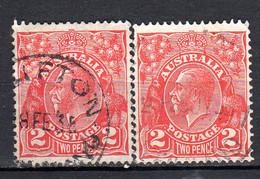 Australie Oblitéré N° 792 2 Timbres Lot 183 - Usati