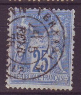 Vernantes Maine Et Loire (49) Oblitération Type 18 Sur Sage - 1877-1920: Semi-Moderne