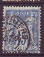 Vihiers Maine Et Loire (49) Oblitération Type A1 Sur Sage - 1877-1920: Semi-Moderne