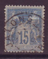 Jalons Marne (51) Oblitération Type A1 Sur Sage - 1877-1920: Semi-Moderne