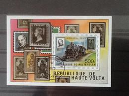 Haute Volta Bloc Sir Rowland Hill . Oblitéré. - Upper Volta (1958-1984)