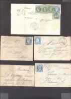FINISTERE 29 Lot De 33 Lettres Classiques - 1849-1876: Klassieke Periode