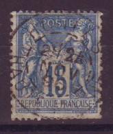 Hortes Haute-Marne (52) Oblitération Type A1 Sur Sage Defectueux - 1877-1920: Semi-Moderne